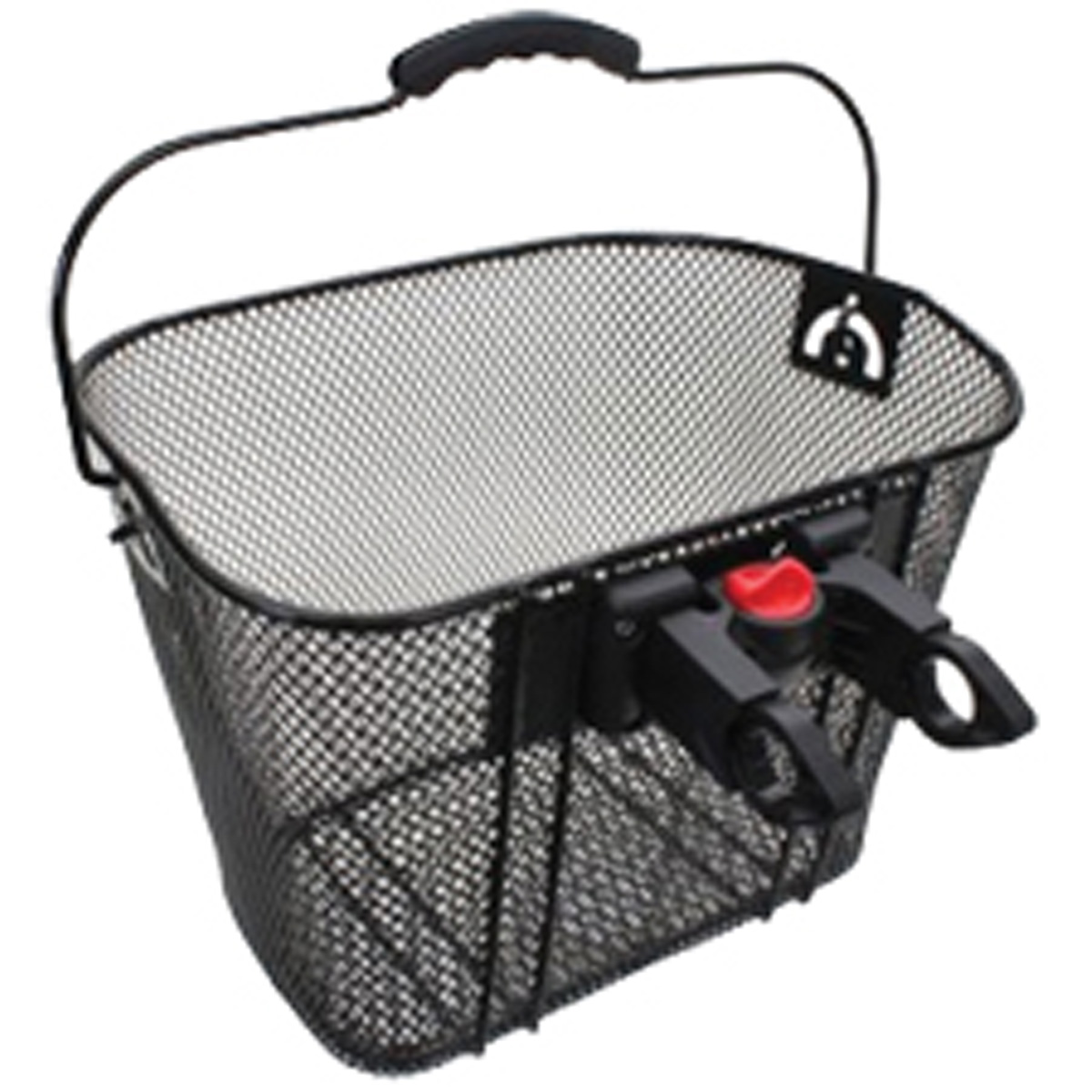 Summit Quick Release Mesh Front Bicycle Basket