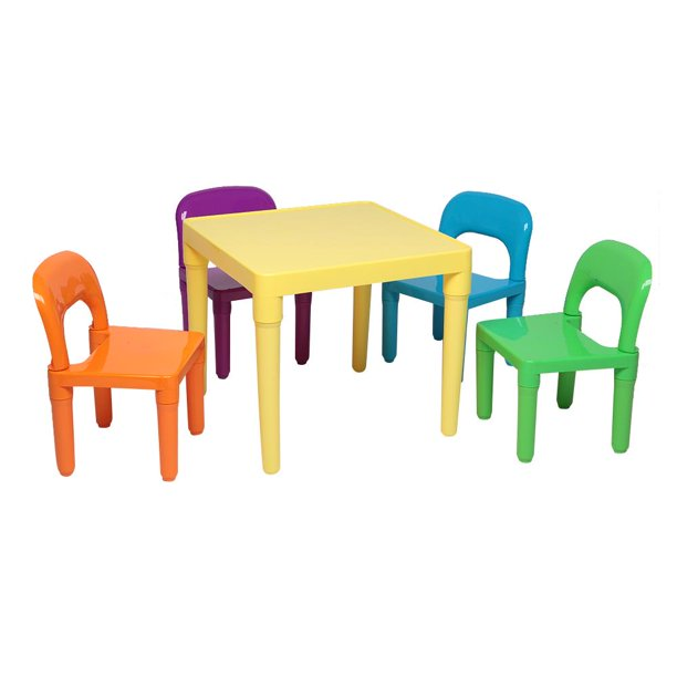 Zimtown Kids Table and Chairs Set - Toddler Activity Chair Best