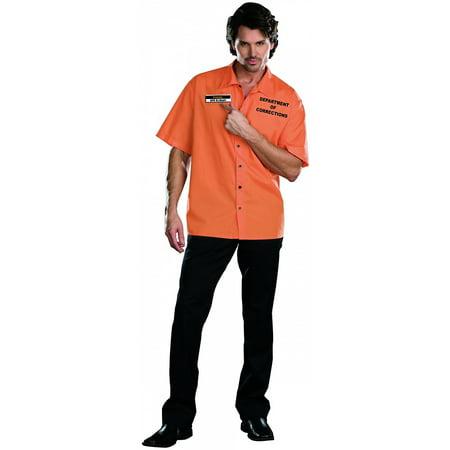 Inmate Ken B Crazy  Adult Costume - Medium for $<!---->