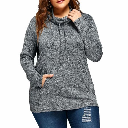 11cafcf2db54 Noroomaknet - Noroomaknet Plus Size Womens Sweatshirt with Pocket, Long  Slevee Pullover Hoodies for Women, Plus Size Tops Coat for Womens  Activewear ...