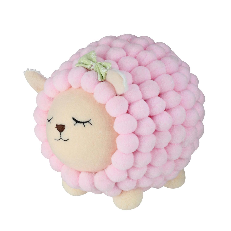 "6"" Pastel Pink Baby Lamb Easter Spring Decoration"