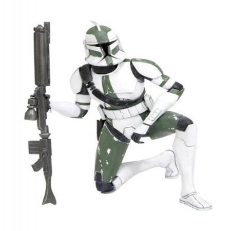 Starwars:The Clone Warsartfx+ Series2 Clone Trooper Commander Gree for $<!---->