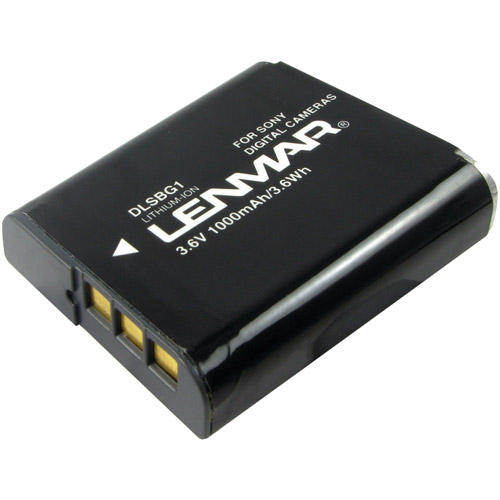 Lenmar DLSBG1 Sony NP-BG1 Replacement Battery