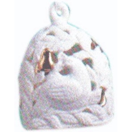 A Partridge in a Pear Tree - Porcelain Bell 2001 Ornament QX8215 By Hallmark Porcelain Bell Ornament