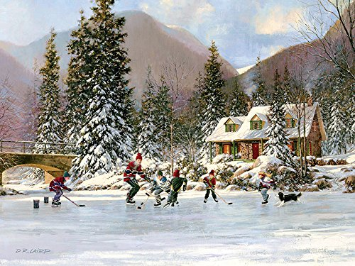 Next Goal Wins! Ice Hockey Winter 400 Piece Jigsaw Puzzle (98670) By Cobble Hill by