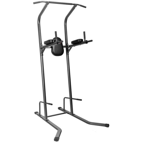 Merax rls8400 full body power tower chin up stand pull up bar dip