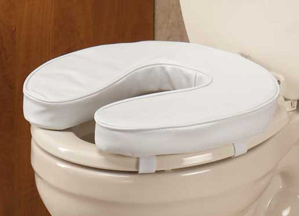 cushioned toilet seat covers.  EZ Rise Cushioned Toilet Seat Walmart com