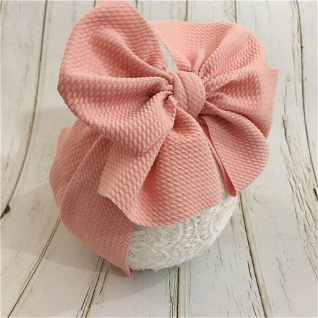 Fashion Infant Toddler Baby Girls Bow Headband Hairband Headwear Accessories](Purple Head Band)
