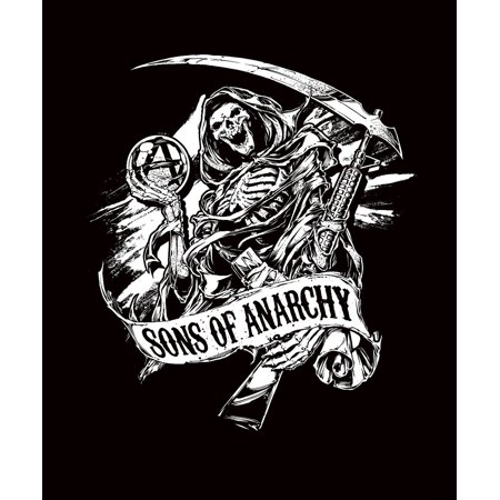 Beach Towel   New Reaper    Sons Of Anarchy Officially Licensed Product By Sons Of Anarchy Ship From Us
