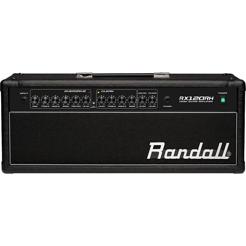 Randall RX Series RX120RH 120W Guitar Amp Head Black
