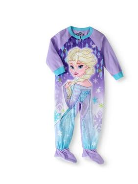 Toddler Girl Micro Fleece Footed Pajama