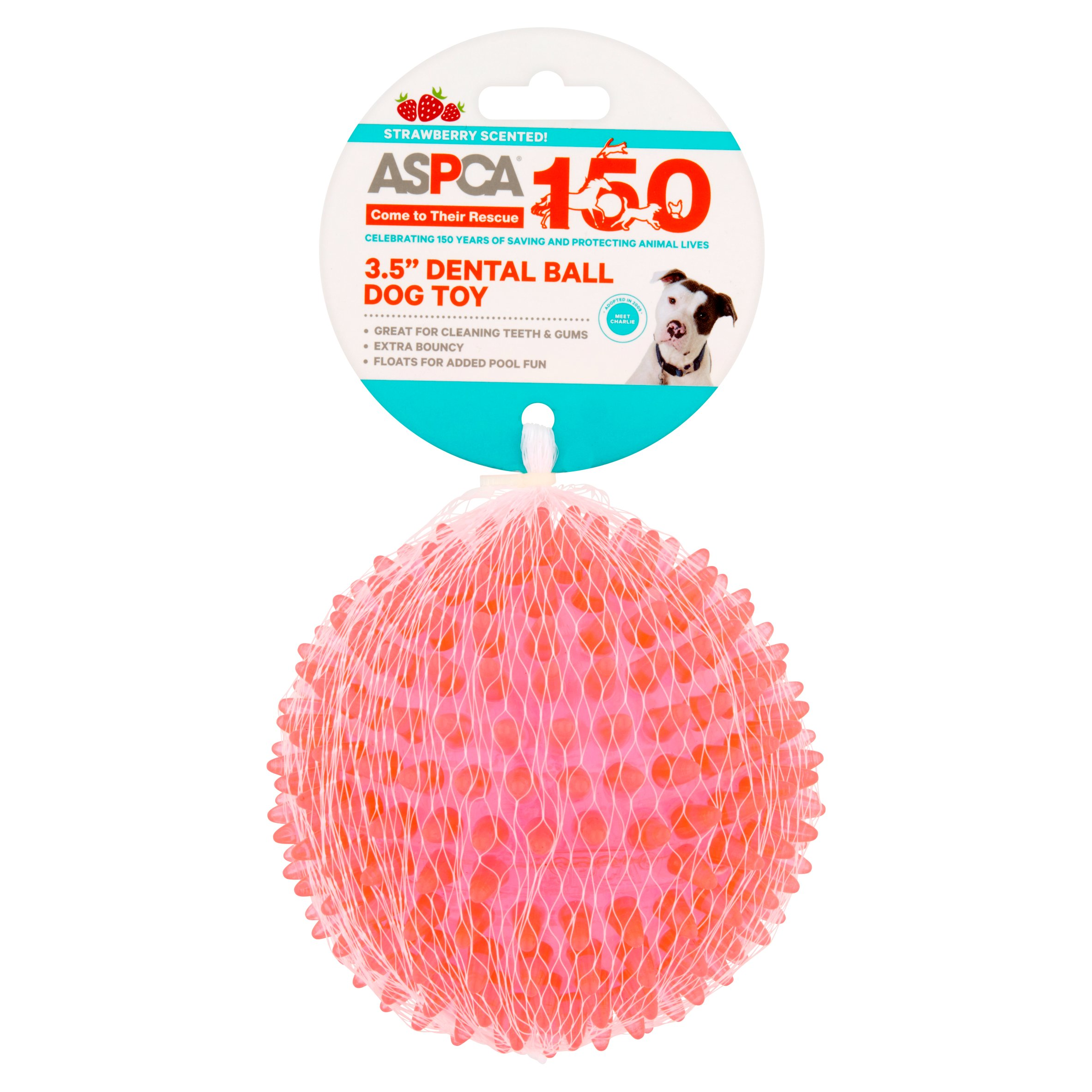"ASPCA 3.5"" Dental Ball Dog Toy by European Home Designs, LLC"