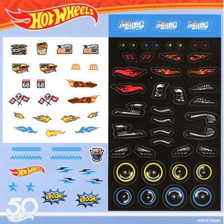 50th Anniversary Hot Wheels Sticker - Anniversary Stickers