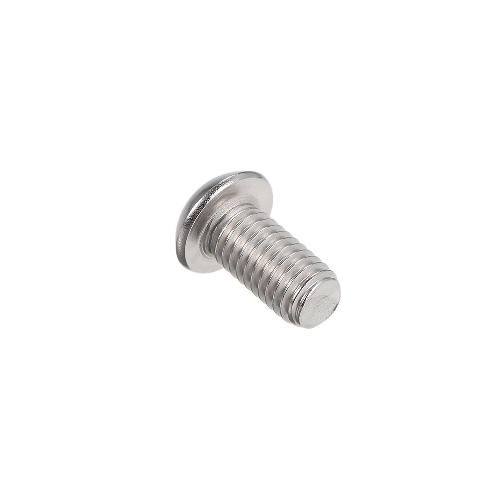 M8 Metric Size A2 IS07380 304 Stainless Steel Hex Socket Button Screw Bolts J4L6