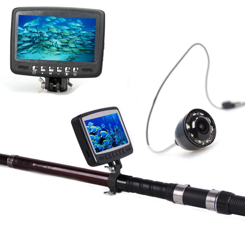 "Eyoyo 4.3"" 15M Color Monitor Underwater Camera Ice Sea Boat Fishing Fish Finder by"