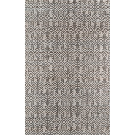Momeni Bengal Jute and Cotton Hand Woven Grey Area Rug 5