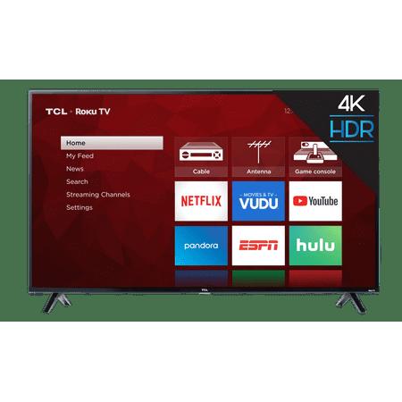 "TCL 50"" Class 4K Ultra HD (2160P) Roku Smart LED TV (50S421)"