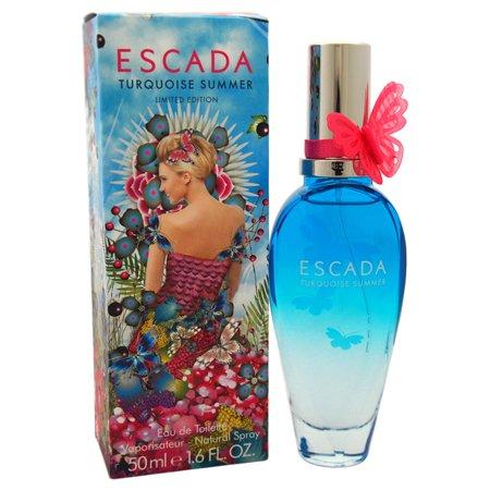 Best Escada Turquoise Summer Eau de Toilette Spray, 1.6 Fl Oz deal