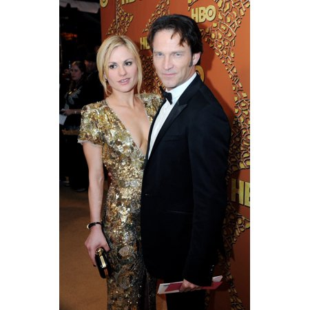 Anna Paquin And Stephen Moyer At The After Party For Hbo Golden Globe After Party Circa 55 Restaurant Los Angeles Ca January 17 2010 Photo By John Hayeseverett Collection Celebrity