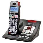 Amplified Cordless Big Button Telephone with Answering Machine and Talking Caller ID for Severe Hearing Impairedv- Serene Innovations Model CL60A