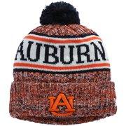 Auburn Tigers New Era Team Logo Sport Cuffed Knit Hat with Pom - Navy - OSFA