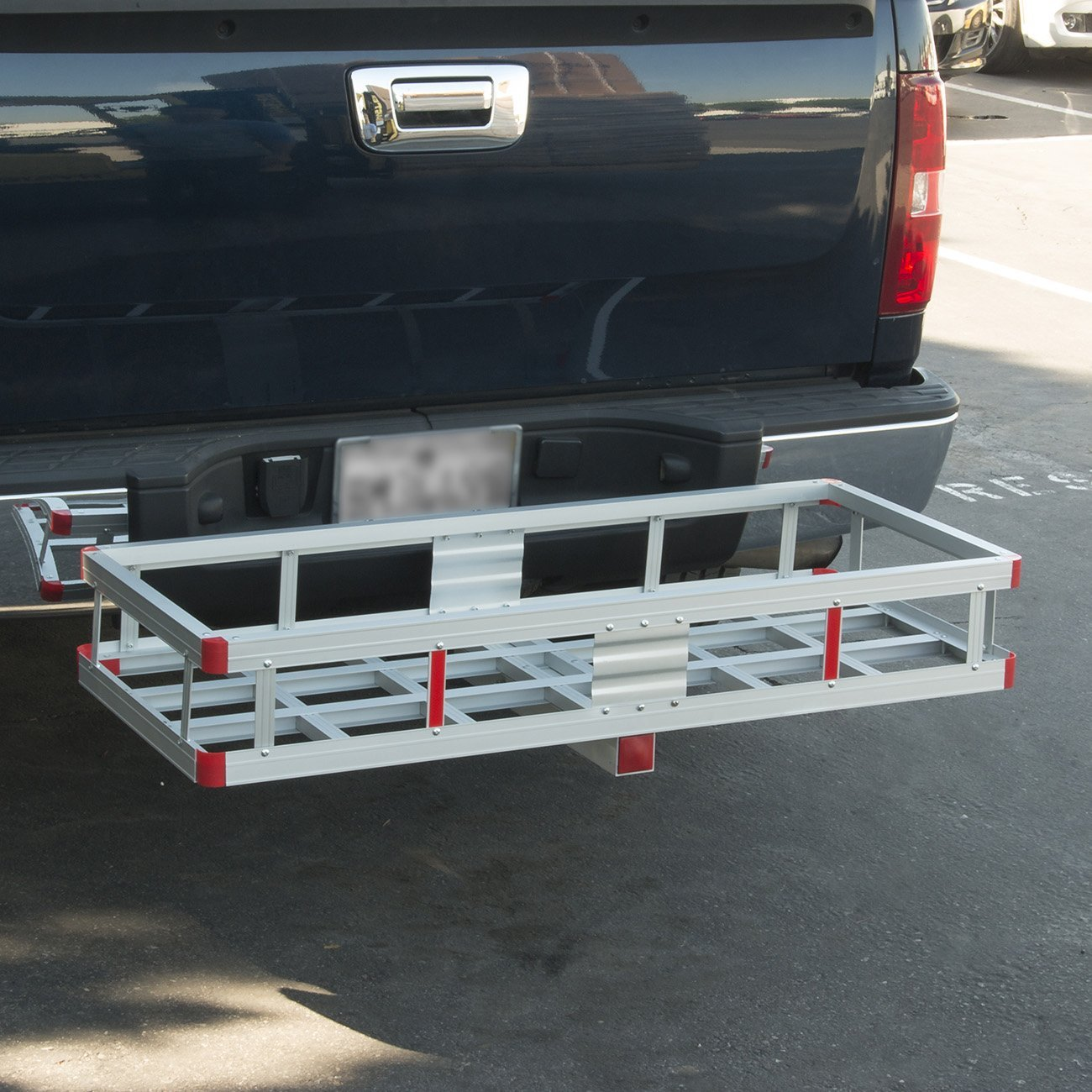 """Gizmo Supply Aluminum Cargo Carrier Basket, 2""""-inch Hitch..."""