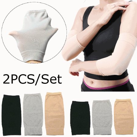 1 Pair Elbow Brace Compression Sleeve Arm Support Elbow Sleeves for Tendonitis Workouts