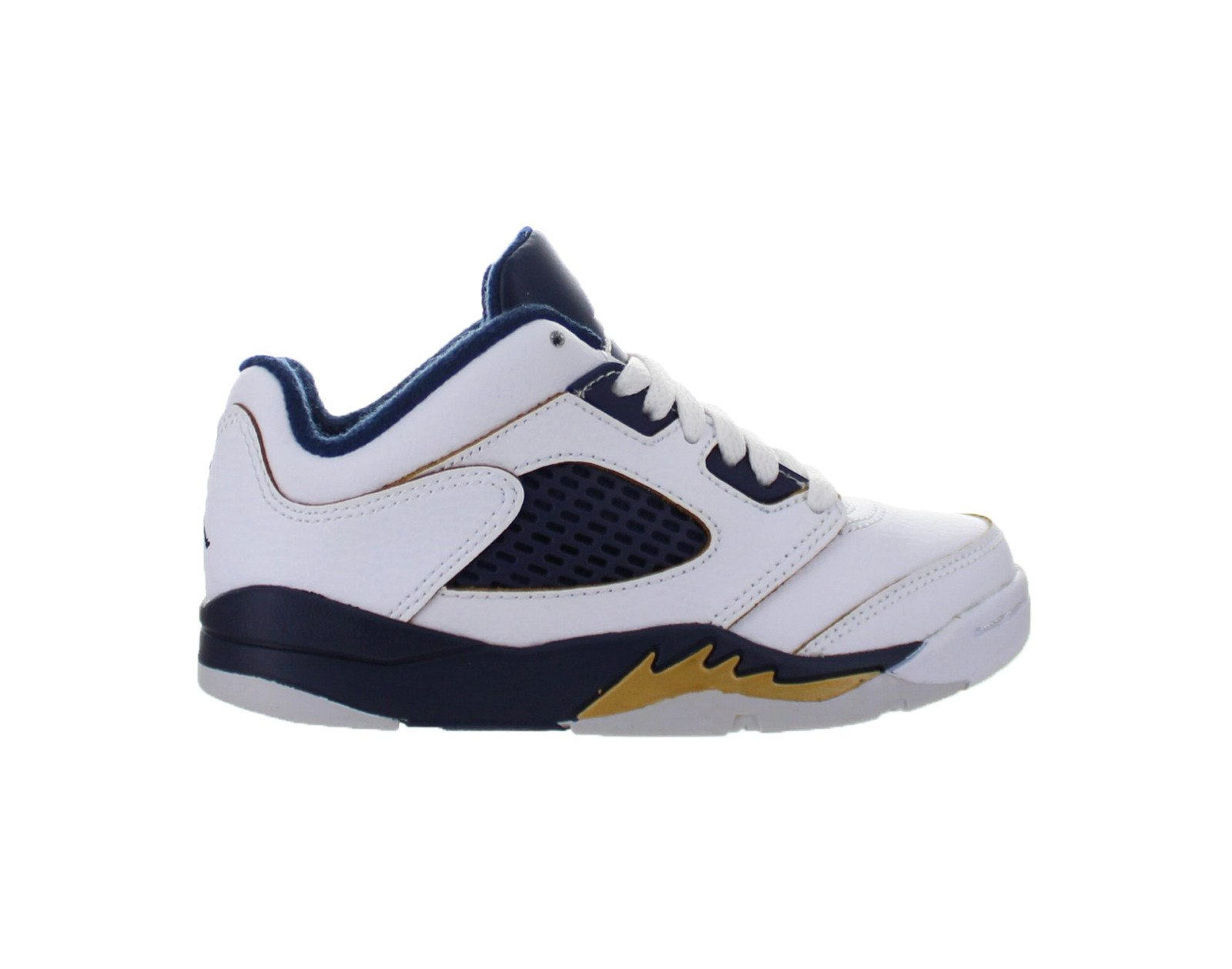 official photos fb5c8 f8cd5 ... usa air jordan 5 v retro low ps dunk from above white midnight navy  walmart 6fd5f