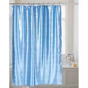FSC15-FS-24 72 x 72 in. Shimmer Faux Silk Shower Curtain, Slate