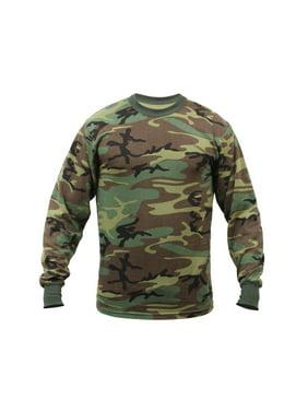 Product Image Men s Long Sleeve T-Shirt Woodland Camo 219922c85