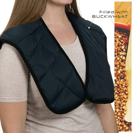 Hot/Cold Buckwheat Therapeutic Soothing Neck and Shoulder Wrap Therapeutic Hot Cold Neck Wrap