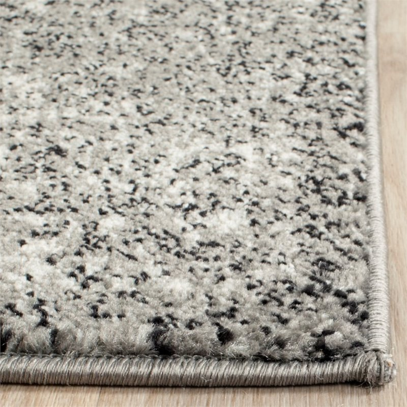 """Safavieh Evoke 5'1"""" X 7'6"""" Power Loomed Rug in Gray and Ivory - image 3 of 7"""