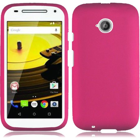 For Moto E LTE 2015 2nd Generation Rubberized Snap On Plastic - Hot - 2nd Generation Snap