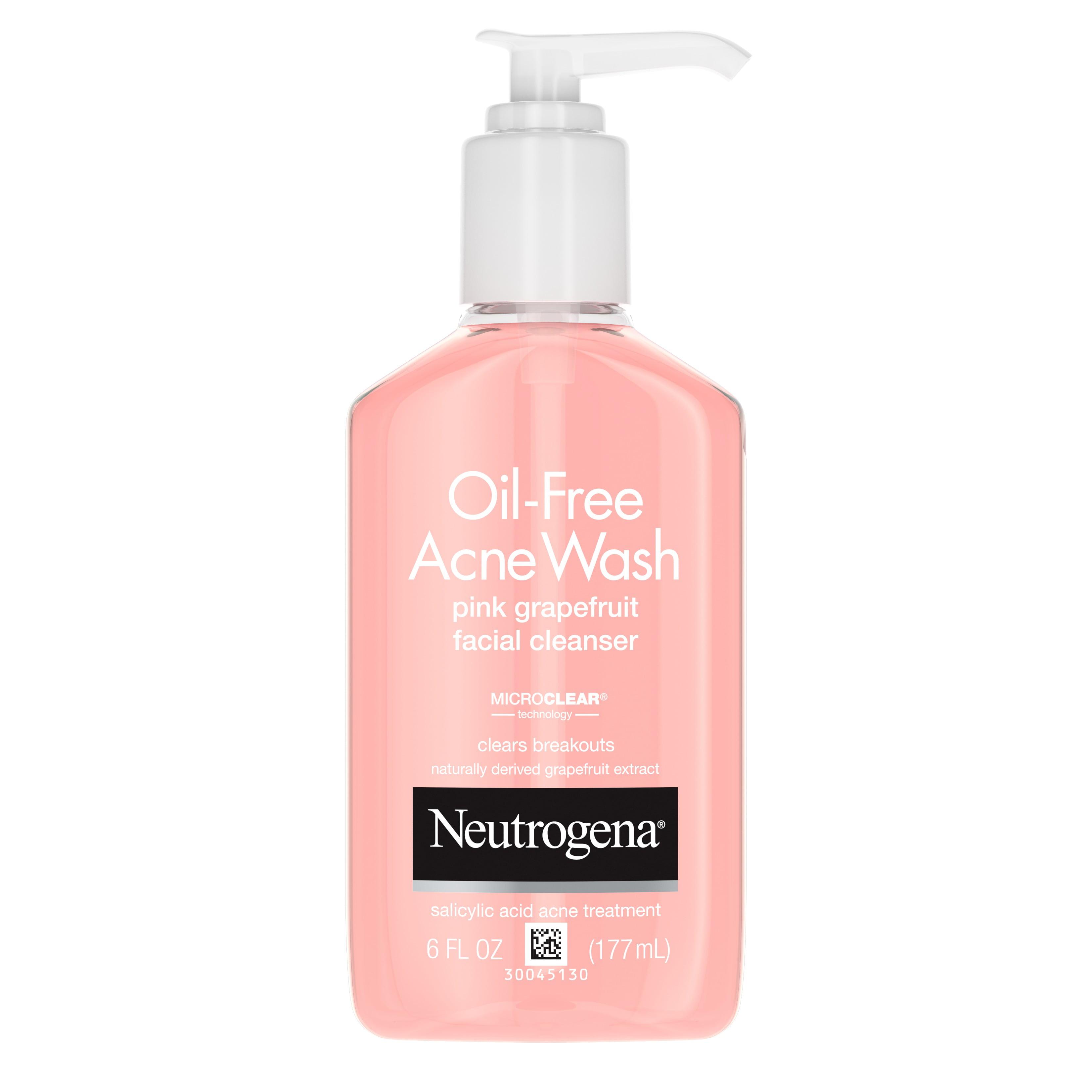 Neutrogena Oil Free Acne Liquid Facial Cleanser Oily Skin