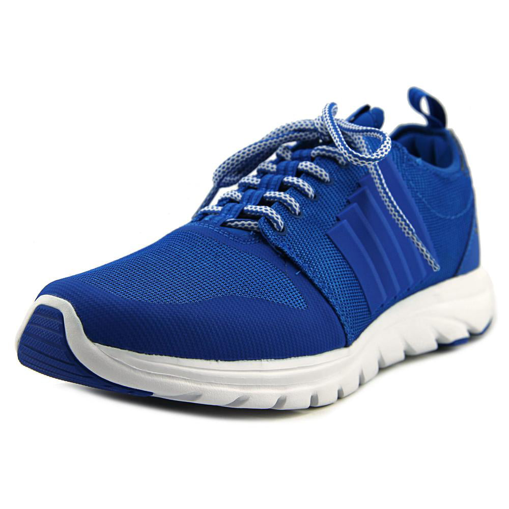 K-Swiss Axcel Trainer Men Round Toe Canvas Blue Cross Training by K-Swiss
