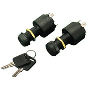 Sea Dog 4-Position Ignition Switch, Long Shaft, Acc.-Off-Ignition-Start, Includes Cap