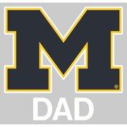 Michigan Wolverines Transfer Decal - Dad