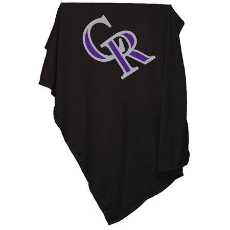 Colorado Rockies MLB Sweatshirt Blanket by