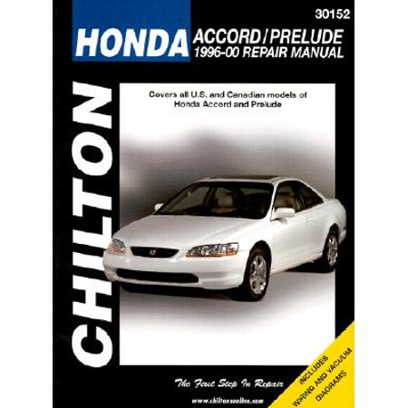 - Honda Accord and Prelude, 1996-00