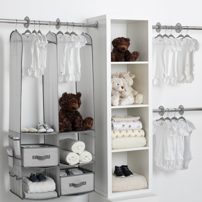 Delta Children 24-Piece Nursery Storage Set - Beige