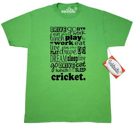 3ad256380 Inktastic - Inktastic Cricket T-Shirt Player Funny Gift For Humor Sports  Mens Adult Clothing Apparel Tees T-shirts Hws - Walmart.com