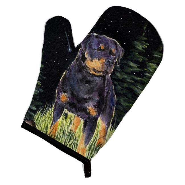 Carolines Treasures SS8475OVMT Starry Night Rottweiler Oven Mitt - image 1 of 1