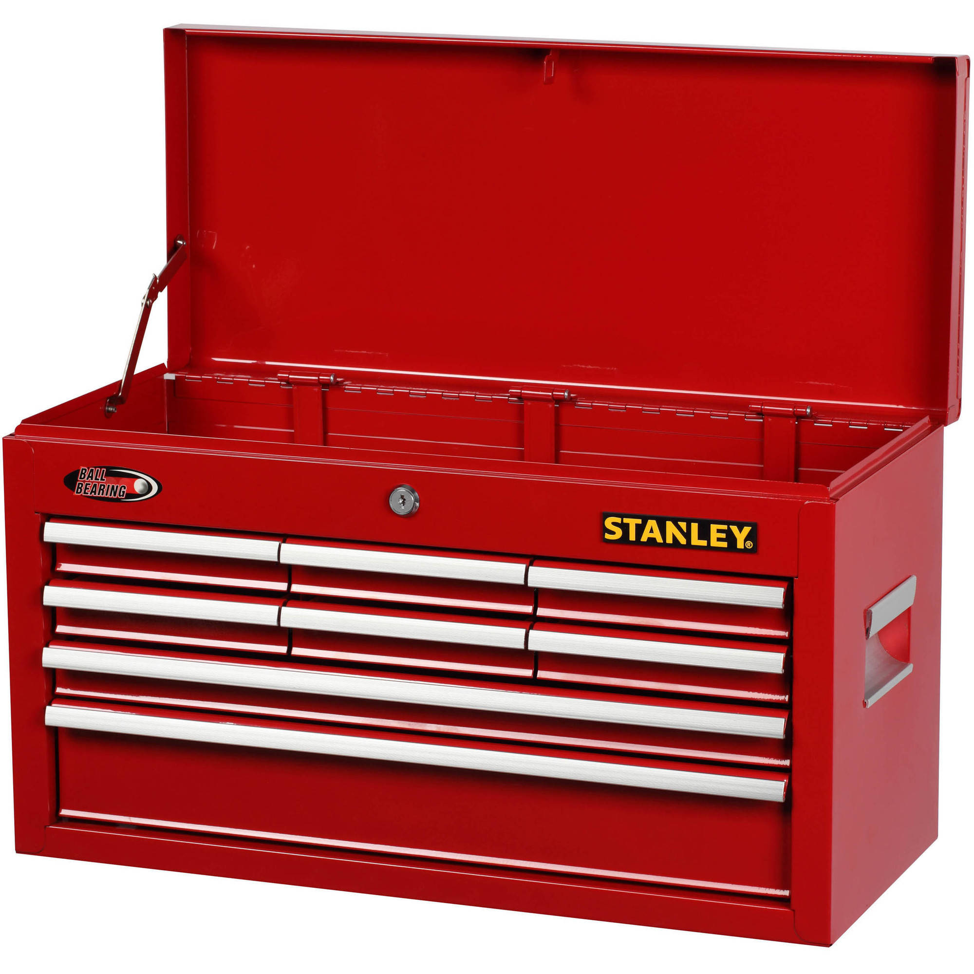 Stanley 8-Drawer Chest, Red