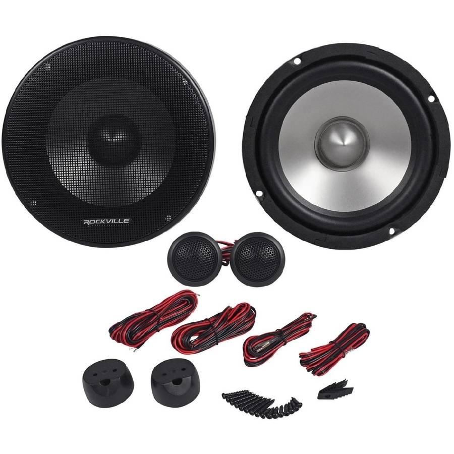 "Rockville RVL6KIT 6.5"" 800-Watt Component Car Audio Speakers"