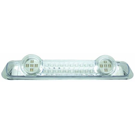 Led Crystal Clear 3rd Brake - IPCW Led3-538dc Crystal Clear Led Third Brake Light With Cargo Light - 1 Piece