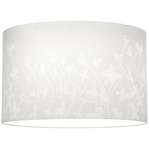 "Progress Lighting P8766 Chloe 16"" Floral Fabric Shade for P5198 or P5199 Stems,"