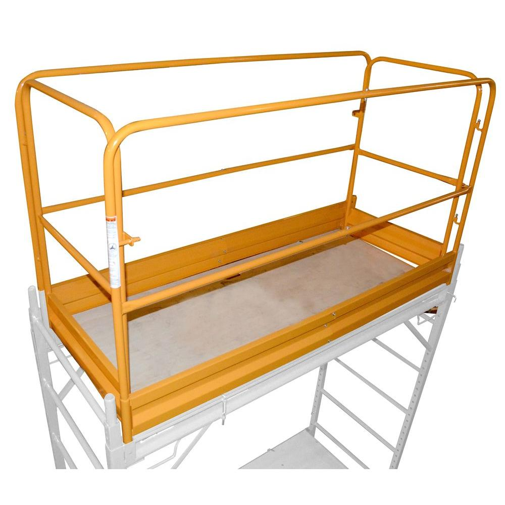 Pro-Series Scaffolding Guard Rail System