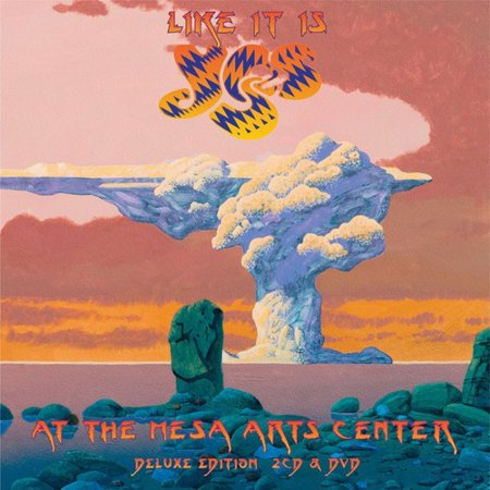 Like It Is  Yes Live At Mesa Arts Center  2Cd 1Dvd   Includes Dvd
