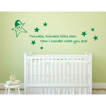 Little Star Wall Decal - Wall Sticker, Vinyl Wall Art, Home Decor ...