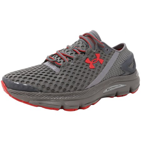 newest 12571 a38a0 Under Armour Men's Speedform Gemini 2 Record Graphite / Red Ankle-High  Running Shoe - 8M